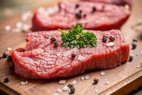 un grossiste alimentaire de viande